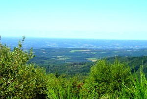 Une vue du haut du Suc-au-May