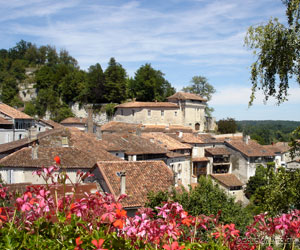 La cité d'Aubeterre-sur-Dronne