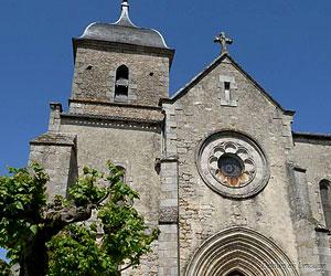 Portail de l'église de Brigueuil