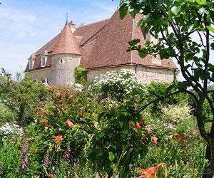 Autre vue des jardins de Drulon