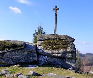 La croix de la chapelle du Rat