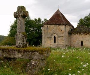 Chapelle Saint-Hilaire-la-Combe à Curemonte