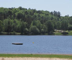 Vue sur le lac du Coiroux