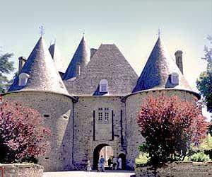 Le château de Pompadour