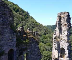 Les ruines des Tours de Merle