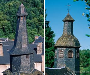 Clochers des chapelles de Treignac