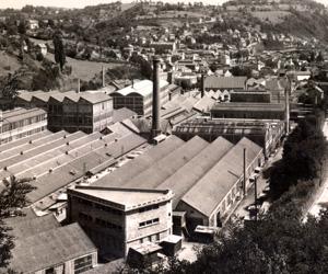 Image d'archive de la manufacture d'armes