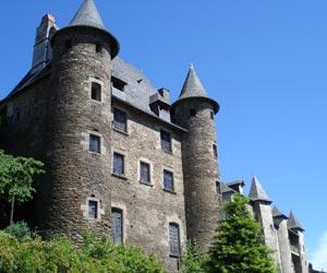 Uzerche - Le château Pontier