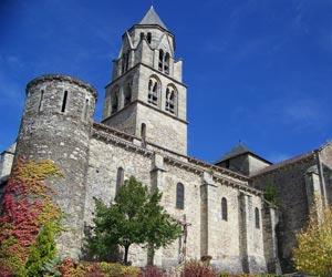 Abbatiale Saint-Pierre à Uzerche