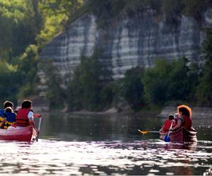 Kayak sur la Vézère