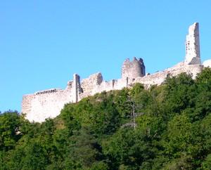 Les ruines du château de Ventadour