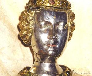 Buste reliquaire de Sainte-Valérie