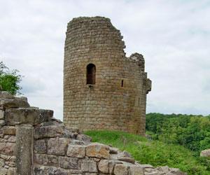 Le château de Crozant