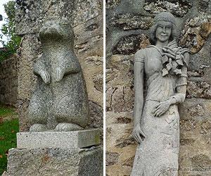 Sculptures à Masgot