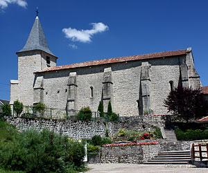 L'église Saint-Germain de Royère-de-Vassivière