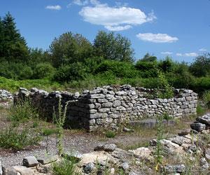 Les ruines gallo-romaines du Puy Lautard