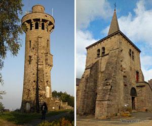 Tour-relais et église de Toulx-Sainte-Croix