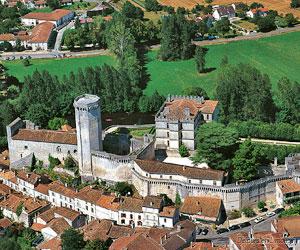 Vue du château de Bourdeille