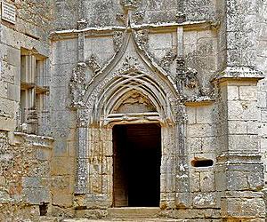 Portail du château de l'Herm