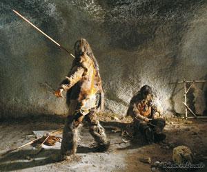 Scène de chasseur au musée du Thot