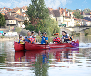 Loisirs en famille sur la Dordogne