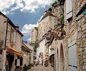 Vue de Rocamadour