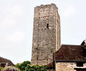 La tour de Château-Chervix
