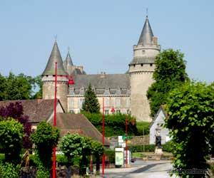 Le Château de Coussac Bonneval