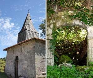 Chapelle et ruines de l'abbaye de Grandmont