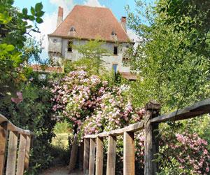 Vue du jardin de Liliane