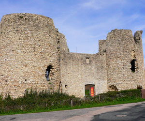 Le château de Lastours