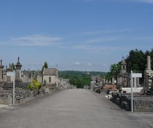 Autre vue du cimetière de Louyat