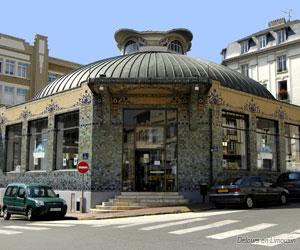 Le pavillon du Verdurier à Limoges, avec ses émaux