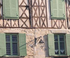 Une maison à colombages
