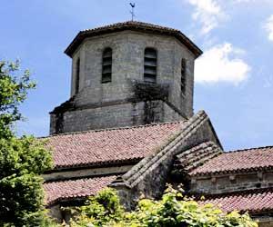 L'église des Salles Lavauguyon