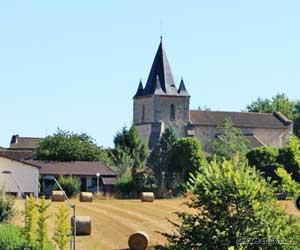 Le bourg de Séreilhac et son église